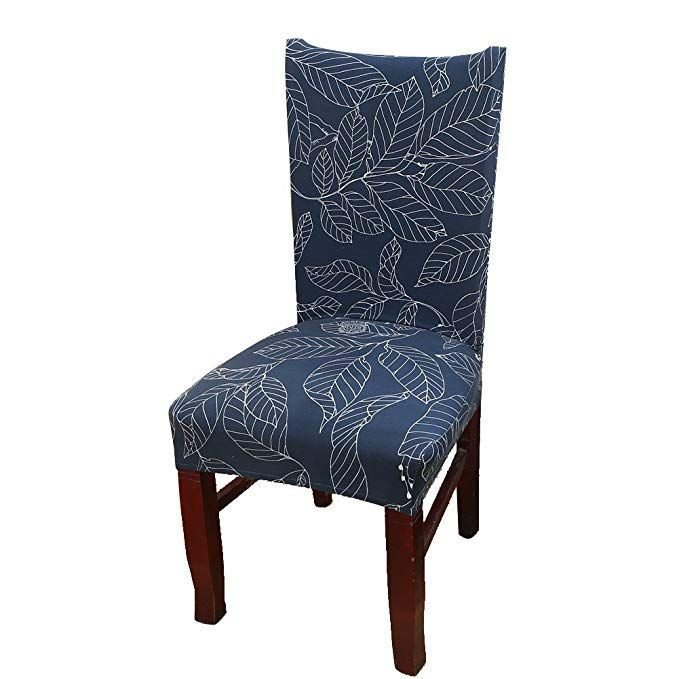 Khalee Super Fit Stretchable Short Dining Room Chair Protector