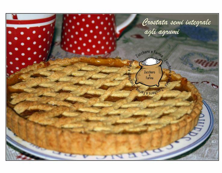 Zucchero & Farina: Crostata alla #confettura agli #agrumi