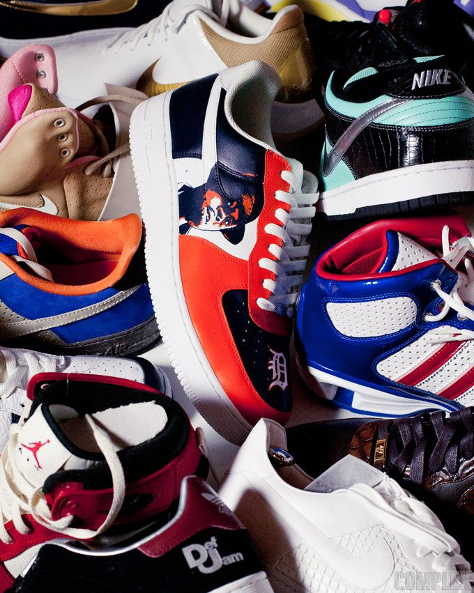 MC Serch has an extensive sneaker collection that dates back to the '80s, and it's for sale.