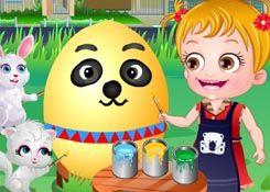 JuegosdeHazel.com - Juego: Día de Pascua - Jugar Juegos Nuevos de Bebe Hazel Gratis Online