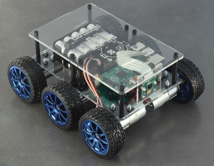 DiddyBorg - The most powerful Raspberry Pi robot available | PiBorg (Scheduled via TrafficWonker.com)