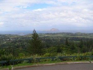 The beautiful scenery of Norfolk Island