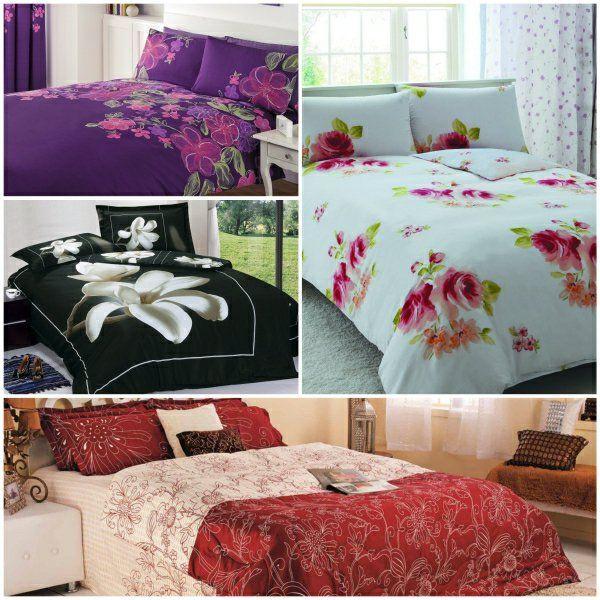 elegante bettwäsche bettwäsche blumen betwäsche - Schlafzimmer