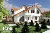 proiect casa Parter si Mansarda Lora 12