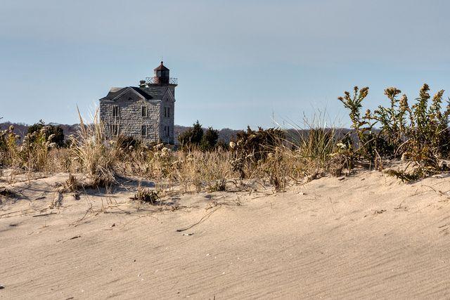 Cedar Point Lighthouse Cedar Point County Park Long Island, NY by Bill