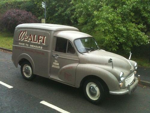 "Morris Minor Van....with ""Bubs Bears"" painted on the side perhaps?"