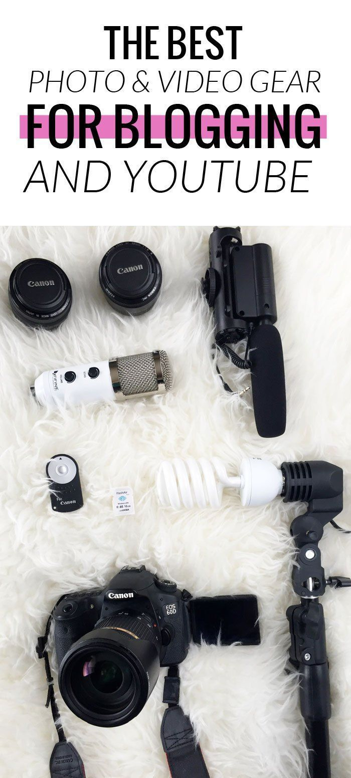 My Favorite Photo and Video Gear for Blogging and Youtube