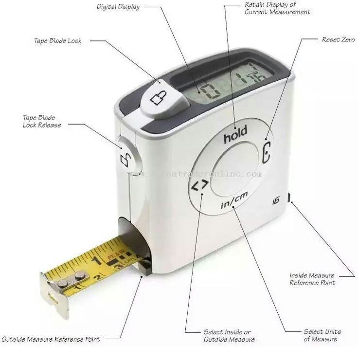 89 best tape measures images on pinterest tape measure for Room measurement tool