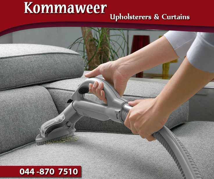Before using any upholstery cleaning products, vacuum the sofa or chair first to remove as much surface dirt and dust as possible. Be sure to use the correct attachments to avoid damage to the material, a soft brush attachment is ideal. #SaturdayTip #Kommaweer