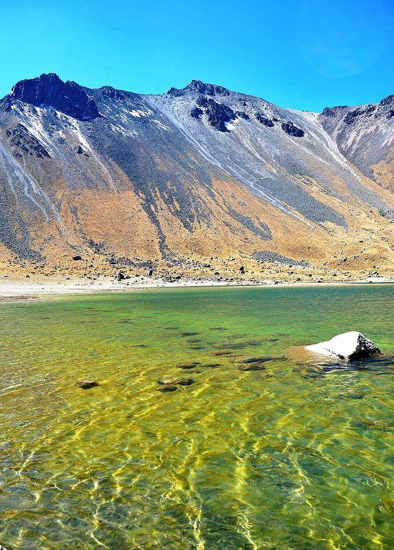 Laguna del Sol, Nevado de Toluca, Mexico