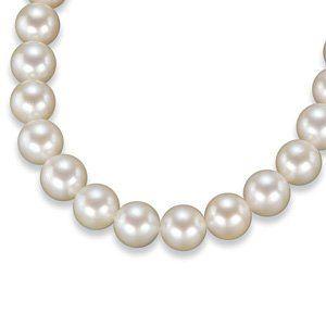 Pearl Strand-Cultured, White, Round, 9-9.5 Mm, Aa, Strand, Unfinished Akoya