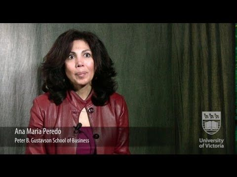 Faces of UVic Research: Ana Maria Peredo