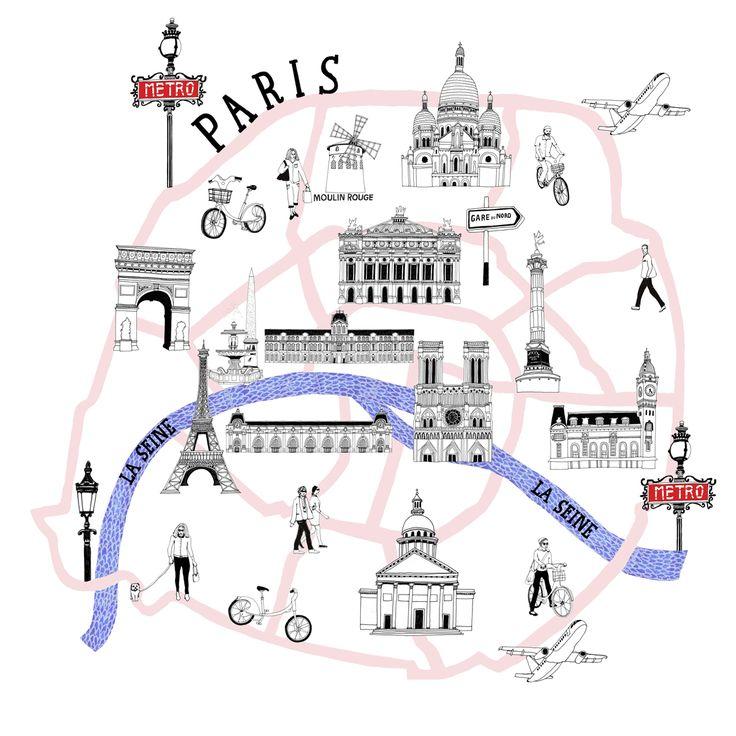 PARIS AIRPORT MAGAZINE : ZOE MORE O'FERRALL // ILLUSTRATION