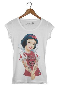 t shirt milord donna biancaneve