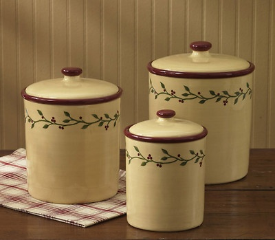 canisters love this prim country look