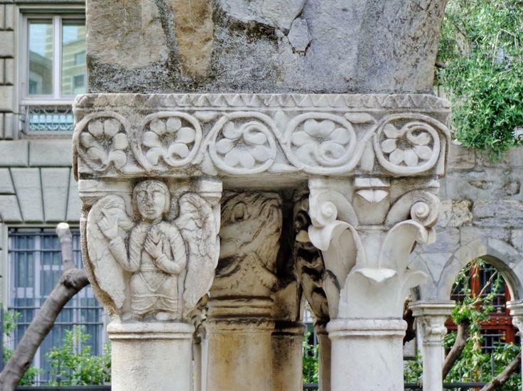 capitelli del chiostro di sant'andrea