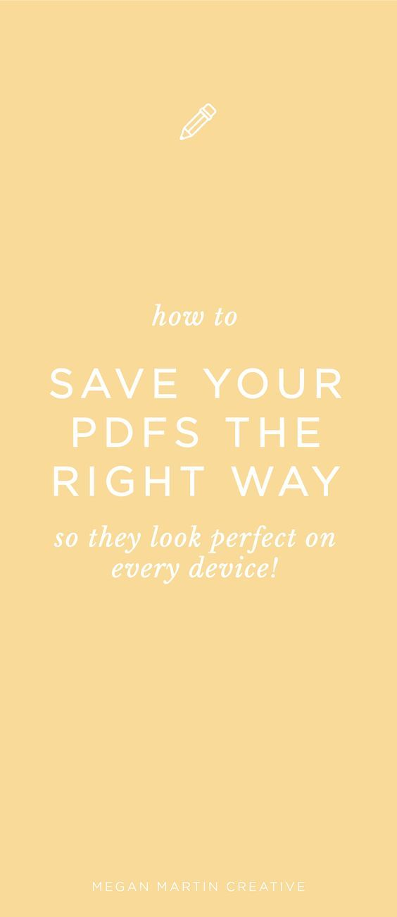 How to Save Your PDF for Perfect Viewing Every Time | Cricut
