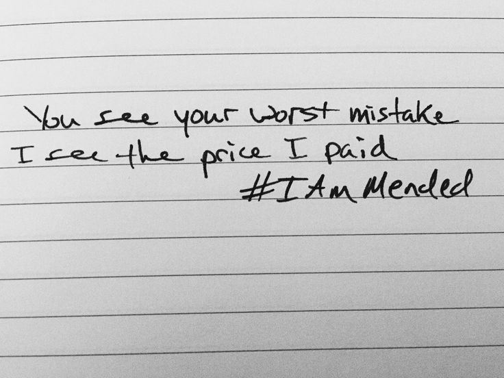 You see your worst mistake, I see the price I paid. - Matthew West #Iammended #MatthewWest  https://itunes.apple.com/us/album/live-forever-deluxe-edition/id978471796