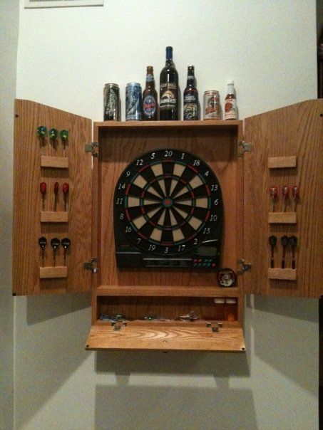 11 best dartboard cabinet ideas images on pinterest darts oak dart board cabinet by aweber lumberjocks woodworking community dartboard cabinet diydartboard solutioingenieria Gallery