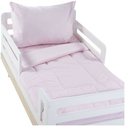 ABC Percale 4 pc Toddler Bed Set - Pink - Free Shipping. Diapers.com for Es big girl room