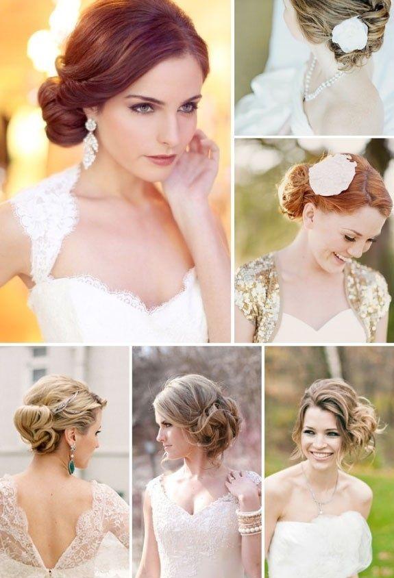 Ślub, wesele, panna młoda, fryzury na ślub