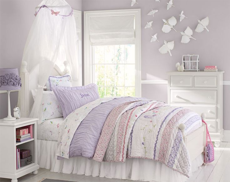 Pottery barn kids kate 39 s room makeover paint color for Pottery barn kids rooms