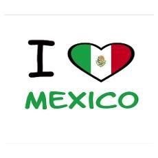 "Mi mexico... ""Te amo Mexico""."