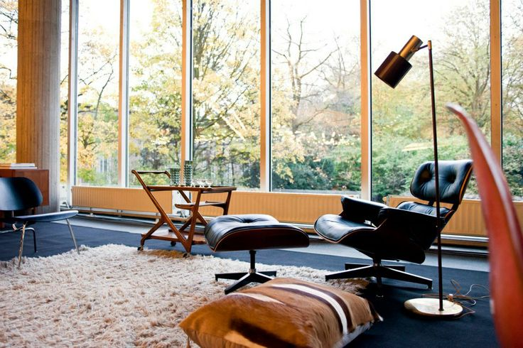 Charles Eames Lounge Chair Living Room Pinterest