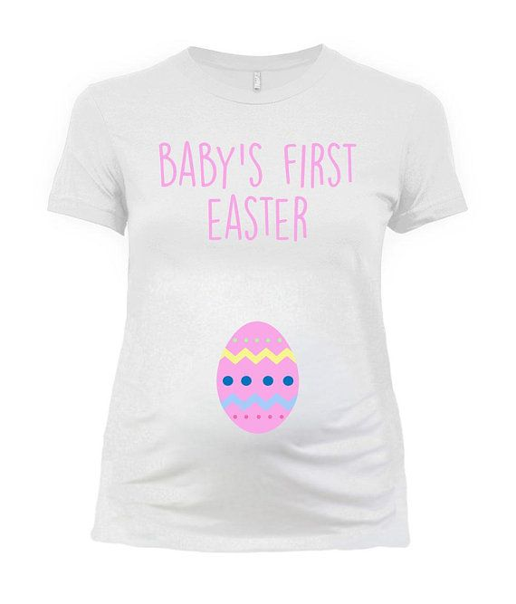 Easter Maternity Announcement Easter T Shirt Pregnancy Reveal