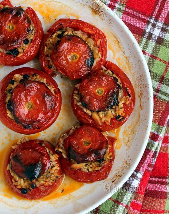 Zeytinyagli Domates Dolmasi (plnené paradajky na olivovom oleji)