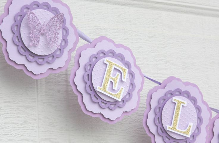 butterfly banner, purple butterfly party decorations, purple nursery decor, baby's name banner, 1st birthday party, girl's party decor #babyshowerideas4u #birthdayparty  #babyshowerdecorations  #bridalshower  #bridalshowerideas #babyshowergames #bridalshowergame  #bridalshowerfavors  #bridalshowercakes  #babyshowerfavors  #babyshowercakes