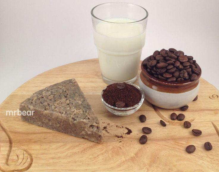 Australia Coffee Milk Quality Handmade Soap with Coffee Powder-cool gifts