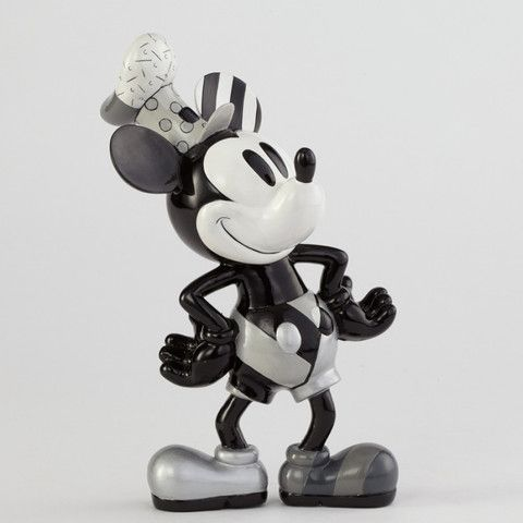 Steamboat Willie. Vintage Mickey Mouse. Large Figurine. Disney by Romero Britto