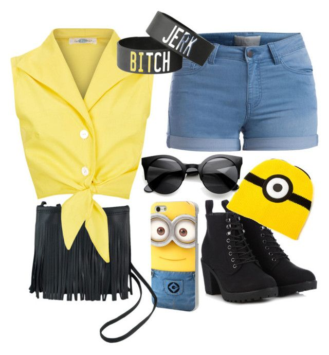 """Minion outfit"" by jorgepaty on Polyvore"