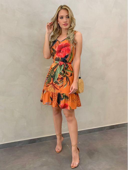 Vestido-Estampado-Luiza | Vestidos estampados, Vestidos estilosos, Vestidos casuais curtos