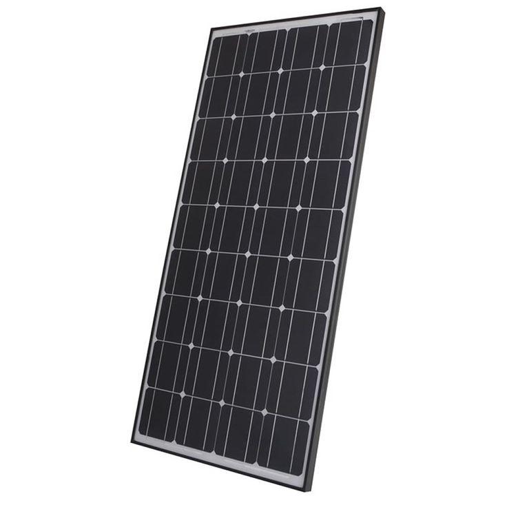 Biard-100W-Watt-Monocrystalline-Solar-Panel-12v-24v-Battery-Black-White-Silver