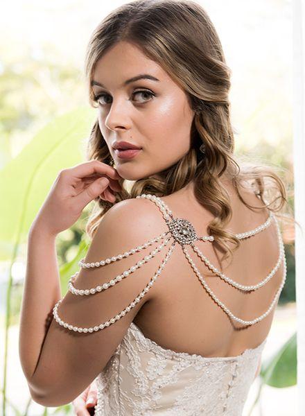 Shoulder jewellery - love it.