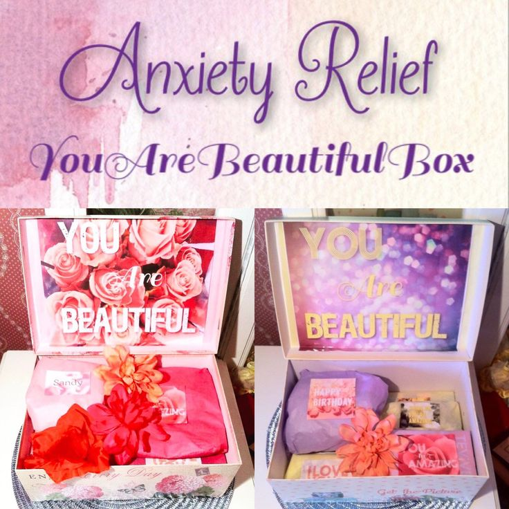 We are happy to announce our anxiety relief box. We aimed to make a calming kit just for her. We included lavender lotions, body mist, tea, and a mug. This is a great self gift for relaxation gift to a friend that would appreciate a little relaxation 💕