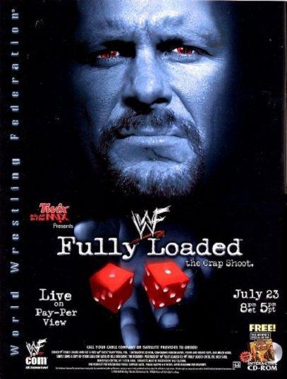 Fully Loaded (2000) 3h | TV Movie 23 July 2000 - WWF Title: The Rock vs. Chris Benoit, WWF Intercontinental Title (steel cage match): Val Venis vs. Rikishi, Last Man Standing Match: Triple H vs. Chris Jericho, WWF Tag Team Titles: Edge & ...