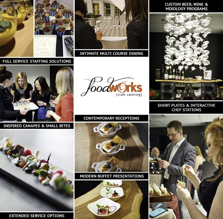 Get the Calgary's leading catering events planning company at Food-Works. Food-Works have a professional caterer and providing food service at hotel, office, pub, or other location.