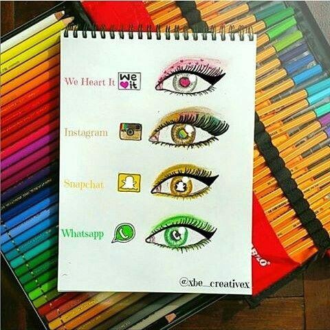 Social Media Eyes