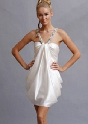 1000 ideas about mini wedding dresses on pinterest for Wedding dresses for cruise ship