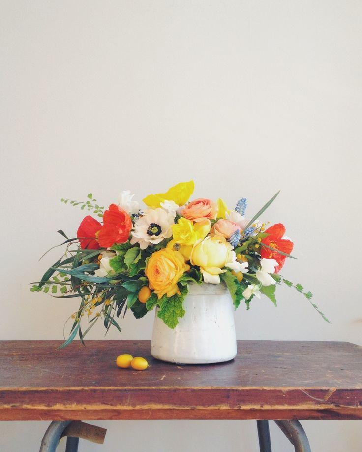kayla's flower arrangement.