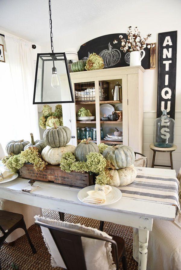 Rustic Heirloom Pumpkin Thanksgiving Table 290 best