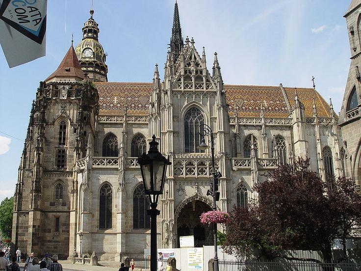 Kosice (Slovakia) - St. Elizabeth's Catedral