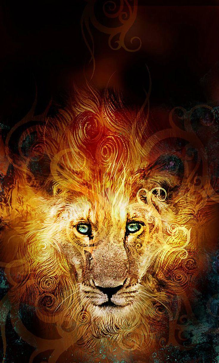 ღ El Leon de Juda: Rey de los animales y poseedor de la fuerza, el león es símbolo de dignidad y victoria, así como también de lucha perpetua y exaltación de la virilidad.2 Dado que, en su poder y justicia, Dios es como un león, la Tribu de Judá es, por caracter transitivo, comparada a su vez con un león ღ♥
