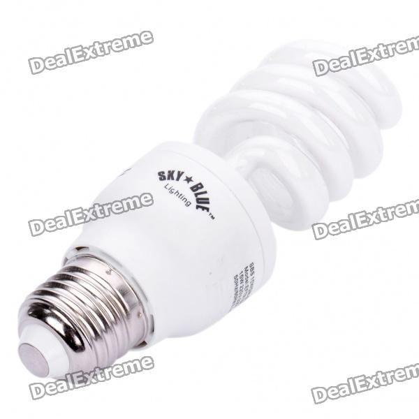 E27 15W 6400K 875-Lumen Negative Ion Air Purifier Energy Saving White Light Bulb (AC 220~230V)