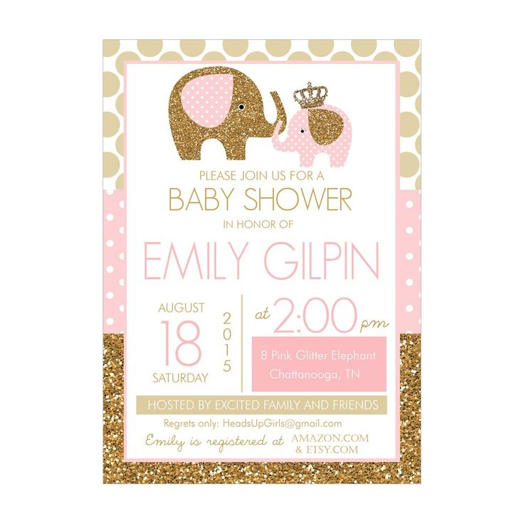 17 Best ideas about Baby Shower Invitation Templates on Pinterest ...