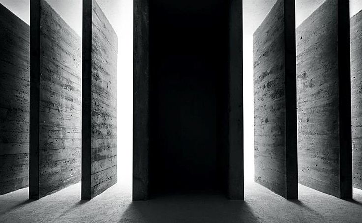 preciousandfregilethings: fiore-rosso: Carlo Scarpa. Canova Plaster Cast Gallery – Museum of Art in Possagno (Italy).