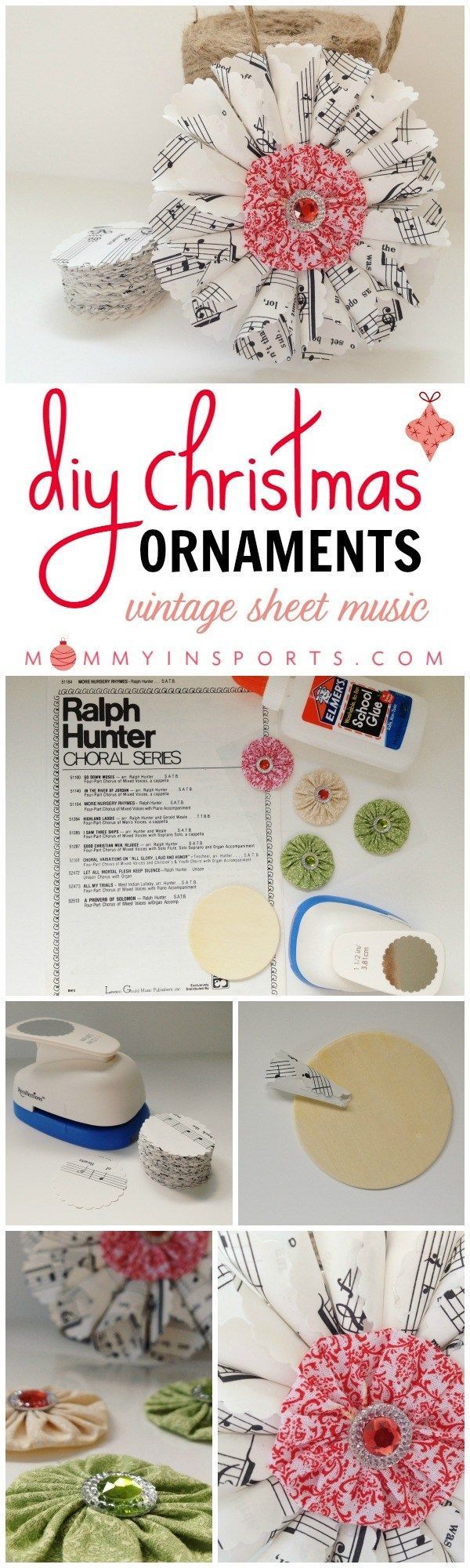 Christmas music ornaments - 25 Best Ideas About Sheet Music Ornaments On Pinterest Sheet Music Ornaments Diy Music And Arts Hours And Diy Xmas Decorations